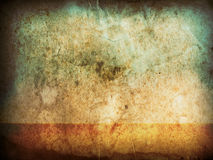 Old grunge paper horizontal Stock Images