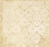 Vintage paper texture. Old grunge paper with old-fashioned patterns. Vintage background for the design royalty free stock photos