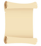 Old Grunge Paper Scroll Royalty Free Stock Image