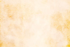 Old grunge paper texture. Royalty Free Stock Images