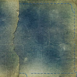 Old grunge photoalbum for photos Royalty Free Stock Images