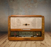 Old grunge radio Stock Photography