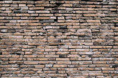 Old and grunge red brick background texture Royalty Free Stock Image