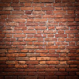 Old grunge red brick wall texture Stock Photography