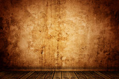 Old grunge room background Royalty Free Stock Photo