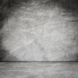 Old grunge room concrete wall interior background Royalty Free Stock Photography