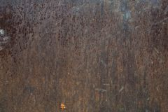 Old grunge rough oxidazed iron surface metal Royalty Free Stock Images