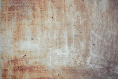 Old grunge rusty zinc wall. For textured background Stock Photography
