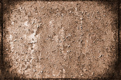 Old  grunge scratched wall as texture. Royalty Free Stock Image
