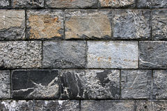 Old grunge stone wall Stock Photography