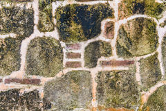 Old grunge stone wall background texture Stock Image