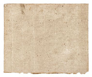 Old grunge textured paper sheet Royalty Free Stock Photos