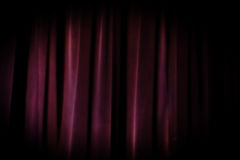 Free Old Grunge Theater Purple Curtain Background. Royalty Free Stock Image - 81667666