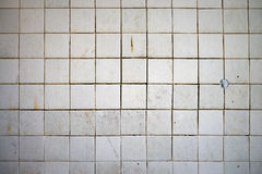 Old grunge tile wall Royalty Free Stock Images