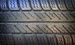 Old grunge tire closeup Stock Photo
