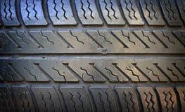 Old grunge tire closeup Stock Photo