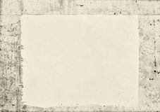 Blank creased crumpled paper texture background Stock Images