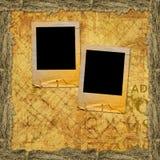 Old grunge torn slides Stock Photo