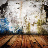 Old grunge wall Stock Photography