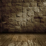 Old grunge wall background Stock Photos