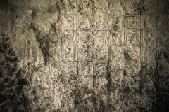 Old grunge wall, highly detailed textured background Royalty Free Stock Image