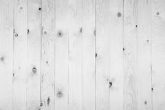 Old grunge white wood panel pattern. With beautiful abstract grain surface texture, vertical striped background or backdrop in architectural material decoration Royalty Free Stock Photo
