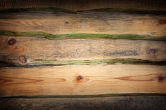 Old grunge wood panels Royalty Free Stock Image