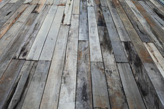 Old grunge wood panels Stock Image