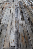 Old grunge wood panels Royalty Free Stock Images
