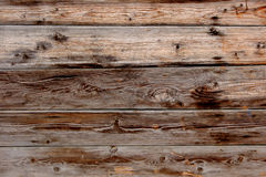 Old grunge wood panels. Brown wood plank wall Royalty Free Stock Photo