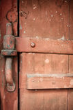 Old, grunge wood panels. Used as background Royalty Free Stock Images