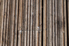 Old, grunge wood panels used as background.  Royalty Free Stock Photography