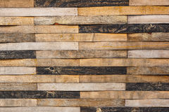 Old, grunge wood panels used as background.  Stock Images