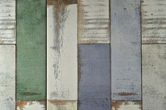 Old, grunge wood panels used as background. Royalty Free Stock Images