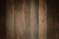 Old, grunge wood panels used as background. Brown wood texture. Stock Photos