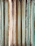 Old, grunge wood panels used as background. Stock Image