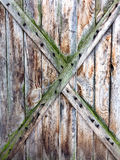 Old, grunge wood  used as background Stock Photo
