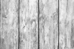 Free Old Grunge Wooden Fence Pattern In Black And White. Stock Image - 125907111