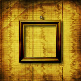 Old grunge wooden frame Stock Photos