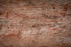 Old red grunge wooden natural background Royalty Free Stock Image
