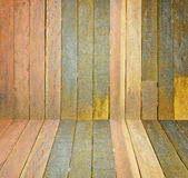 Old, grunge wooden wall used as background. Brown Royalty Free Stock Image