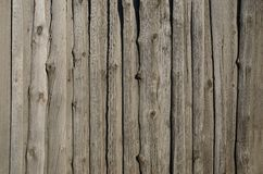 Old, grunge wooden wall used as background Royalty Free Stock Image
