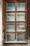 Old grunge wooden window Royalty Free Stock Image