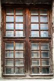 Old grunge wooden window Royalty Free Stock Photos