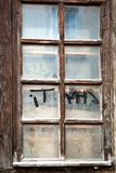 Old grunge wooden window Stock Photography