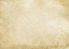 Old grunge yellowed paper texture. Aged and yellowed paper background. Vintage paper texture for the design Stock Photo