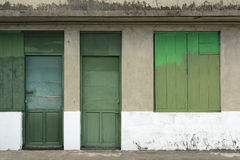 Old grunged door Royalty Free Stock Images