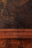 Old grungy blackboard. Stock Photography
