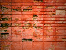 Old and grungy brick wall Royalty Free Stock Photography