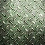 Old grungy diamond plate  Stock Images
